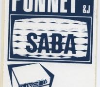 Sticker elektrowinkel Ponnet, Sint-Lievens-Houtem, 1969-1978