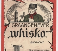 Etiketten dranken stokerij Ponnet, Sint-Lievens-Houtem, 1923-1950