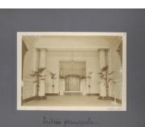 Hoofdingang, Caritasinstituut, Melle, 1910-1915