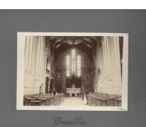 Interieur Kapel, Caritasinstituut, Melle, 1910-1915