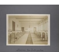 Slaapzaal van de daklozen, Caritasinstituut, Melle, 1910-1915