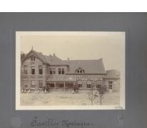 Paviljoen La Montagne, vooraanzicht, Caritasinstituut, Melle, 1910-1915