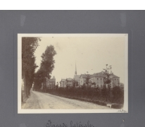 Zijaanzicht, Caritasinstituut, Melle, 1910-1915