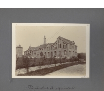 Was- en stijkruimte, Caritasinstituut, Melle, 1910-1915