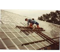 Onderhoud van de serres, Lochristi, 1984