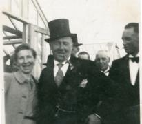 Bloemist Octaaf Wulteputte, Lochristi, 1940