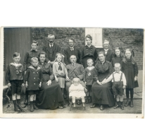 Familie Van Hecke-Wulteputte, Lochristi, 1919