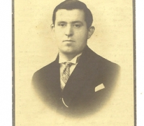 Bidprentje Camiel Audooren, Balegem, 1936