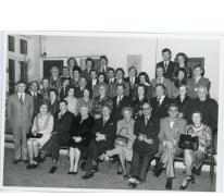 Afscheid gemeenteraad Oosterzele, 1976.