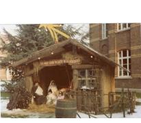 Kerststal PC Caritas, Melle, 1970-1980.