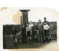Watertoren bloemisterij Van Hecke, Zaffelare, 1910-1920.