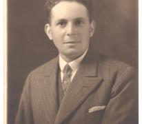 Portret Arhur De Neve, Oosterzele, jaren 1930