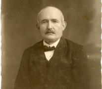Portret François Piens, Destelbergen, begin 19e eeuw.