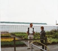 Stand van boomkwekerij De Moor op Gentse Floraliën, jaren 1970
