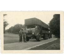 Camion voor bosgrond, Lochristi, jaren 1950