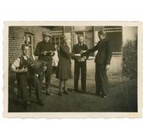 Accordeon spelen, Lochristi, 1941-1942