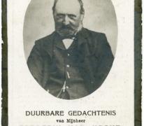 Bidprentje, Frederik Van Hecke, Zaffelare, 1919