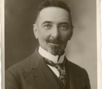 Portret Adolf Van Hecke, Zaffelare, jaren 1930