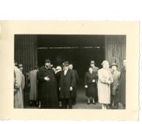 Afscheid voor vertrek pater Alfons Mabilde naar Belgisch-Congo, Antwerpen, 1954
