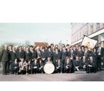 Groepsfoto Harmonie Heusden Provinciaal Tornooi, 1982