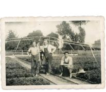 Broers Roggeman aan gietmolen, Heusden, jaren 1940