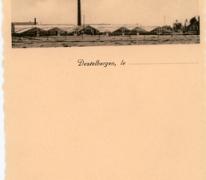 Briefpapier van bloemisterij St-.Fiacre, Destelbergen, na WO II