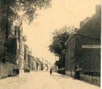 Ansichtkaart van Dorp Destelbergen, begin 20e eeuw