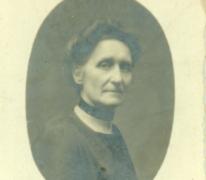 Portret Mathilde De Smet, Destelbergen, begin 20e eeuw