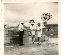 Missiepost pater Alfons Mabilde en medebroeders, Belgisch-Congo, ca. 1960