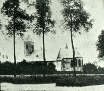 Sint Michielskerk, Sint-Lievens-Houtem, ca. 1900