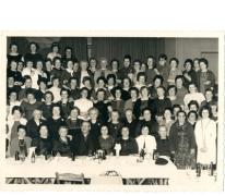 Viering van het 100e lid van de KAV, Letterhoutem, ca. 1970