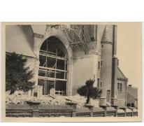 Herstellingswerken aan de Sint-Onkomenakerk, Bavegem, 1947-1954