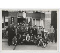 Koningschieting, Café 't Paviljoen, Moortsele, 1956