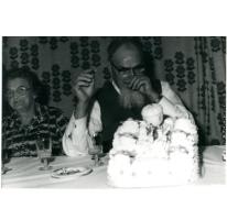Feest ter ere van pater Alfons Mabilde, Letterhoutem, 1974