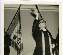 Inwijding lokaal Drie Koningen, Merelbeke, 1959