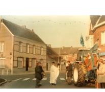 Traktorwijding, Oosterzele, 1988