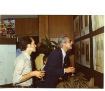 Tentoonstelling Bouwvakambachten, viering 30 jaar de Gilde, 1976