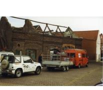 Verbouwingen aan 't Werkhuis, Merelbeke, 1999