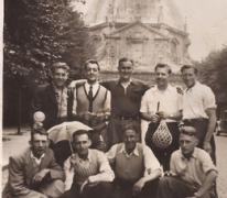 Met de fiets naar Scherpenheuvel, 1955