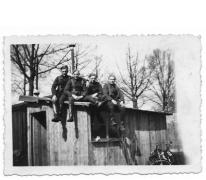"""Windekenaar bij """"den troep"""" met andere """"schachten"""", 1939"""
