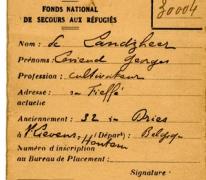 Identificatiefiche stad Bordeaux Livien De Landsheer Sint-Lievens-Houtem, ca. 1940-1945