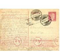 Postkaart van Livien (Georges) De Landsheer aan François De Landsheer, Sint- Lievens- Houtem, 1944