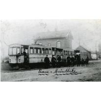 Tram aan de Tramstatie, Merelbeke