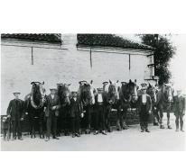 De familie Sedeyn, transportbedrijf, Merelbeke, 1928