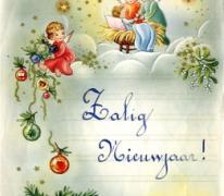 Zalig Nieuwjaar door Lut De Block, 1960-1965