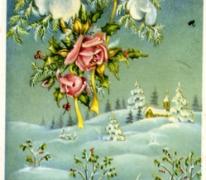 Nieuwjaarskaartje, jaren '60
