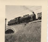 De laatste stoomtrein Gent-Brussel, Melle, 1962
