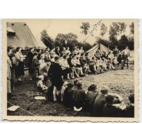 Op Chirokamp in tenten in de Ardennen, 1950-1955