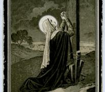 Bidprentje Magdalena De Smet, Sint Lievens- Houtem, 1927
