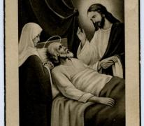 Bidprentje Eerwaarde Zuster Augusta, Herdersem, 1952
